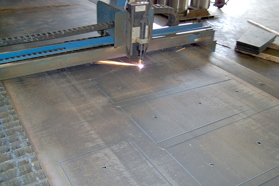 Precision Plasma Steel Cutting
