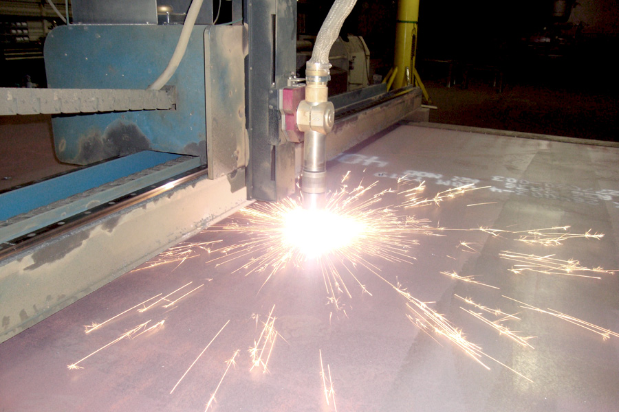 AKS Plasma Steel Cutting